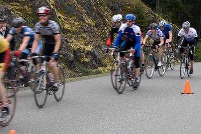 B sprint;3.Aaron Bremner (grey), 4. Chris Chatham, 5. Chris Paul (IRC), 6.John Taylor, 7.Brian Eberdt, 8.Ron Heal