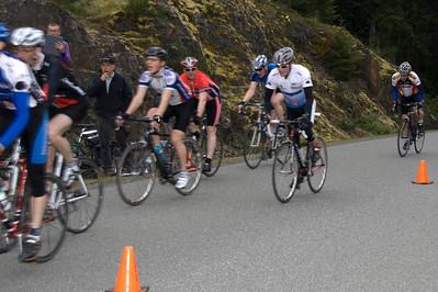 B sprint; 5. Chris Paul, 6.John Taylor , 7. Brian Eberdt, 8.Ron Heal, 9.Paul Brend, 10. Tim Nason, 11.Kelly Landolt