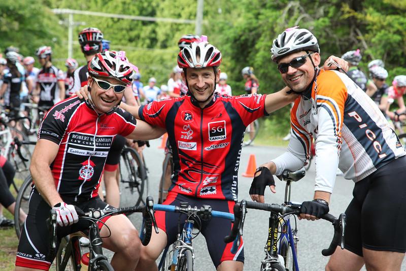 Bob, Darren, Luca