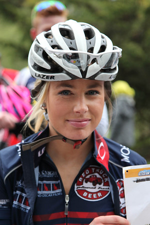 B. Megan Rathwell, (28), Trek-Red Truck, Cat 1 (BC RR Champ 2013)