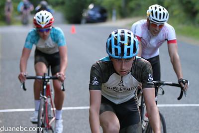 B Finish: 11.Nick Frankenberger (lapped), 4.Lorne Lee, 12.Lachlan Fraser (lapped)