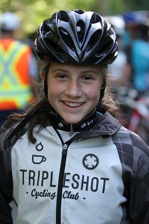 C. Isla Walker, 13, Tripleshot