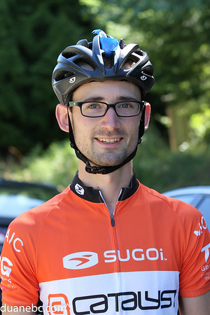 A. Gordon Tulip, 27, UVic Cycling Club