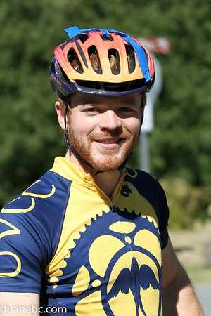 A. Killian Loftis, 26, UVic Cycling Club