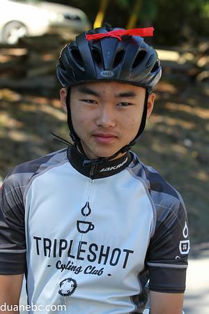 B. Josh Lin, 16, Tripleshot