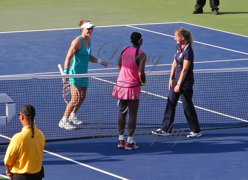 Sam's warm Aussie personality and professional attitude on and off the court, endears her to fans and fellow players.