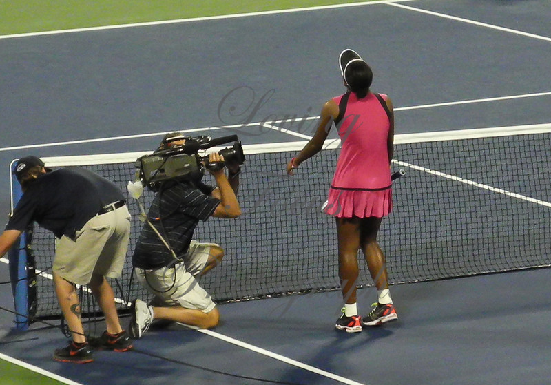 Duval threw her head back then immediately sank to the court on her knees in an emotional overload.