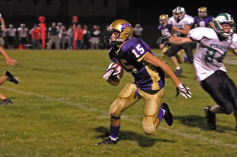 Vikings fumble on punt return, Pecatonica returned for a TD