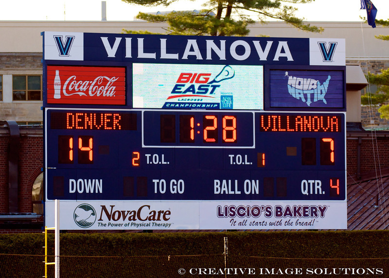 Villanova vs Denver 14-7 BigEast Final May 3 2014 @ Nova   79577
