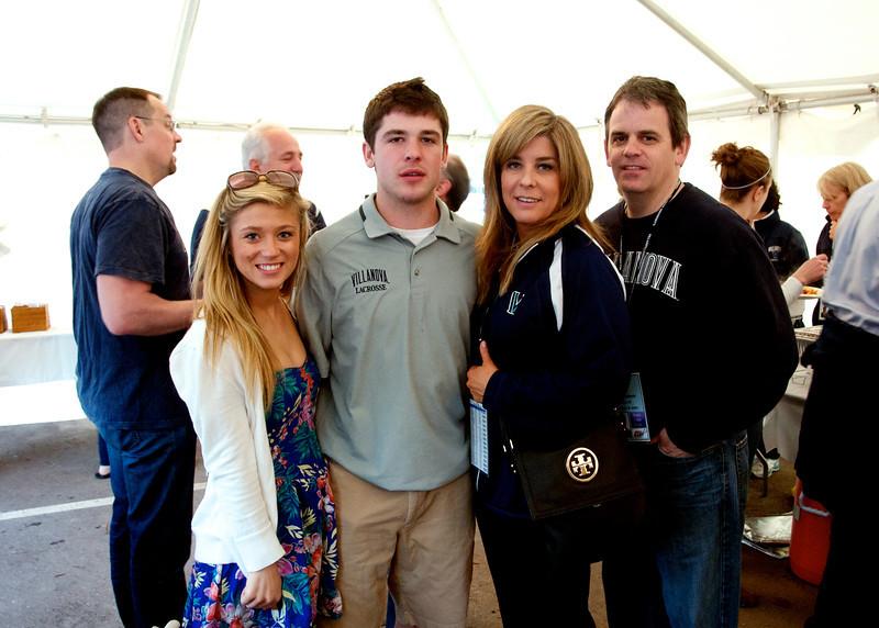 The Moderski Family  with   #24 John Moderski