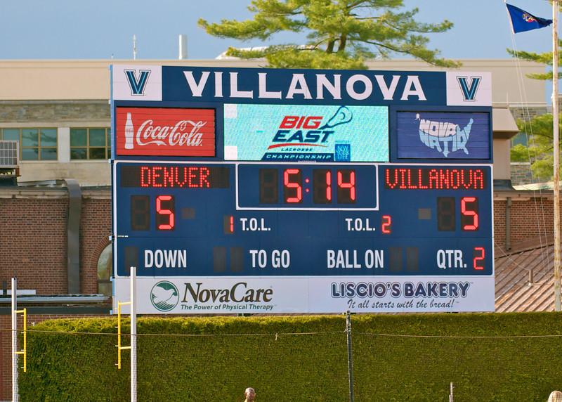 Villanova vs Denver 14-7 BigEast Final May 3 2014 @ Nova   79359