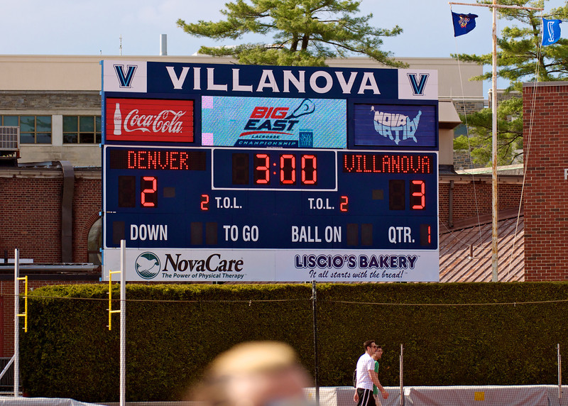 Villanova vs Denver 14-7 BigEast Final May 3 2014 @ Nova   79147