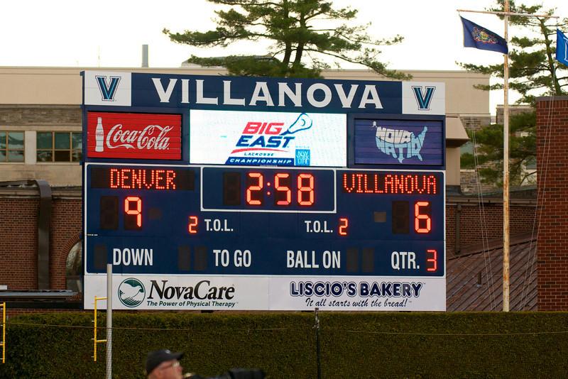 Villanova vs Denver 14-7 BigEast Final May 3 2014 @ Nova   79451
