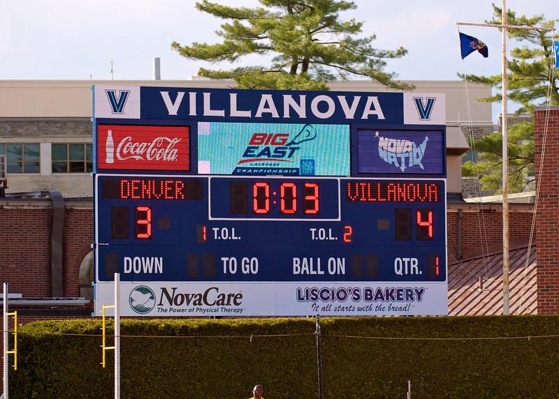 Villanova vs Denver 14-7 BigEast Final May 3 2014 @ Nova   79194
