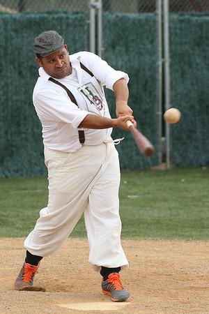 Vintage Baseball Hoboken Nine v Jersey City Skeeters 1208