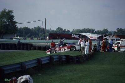 Paul Newman at Road America 1987