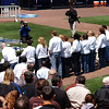 A group of hadicapped students sang the National Anthem