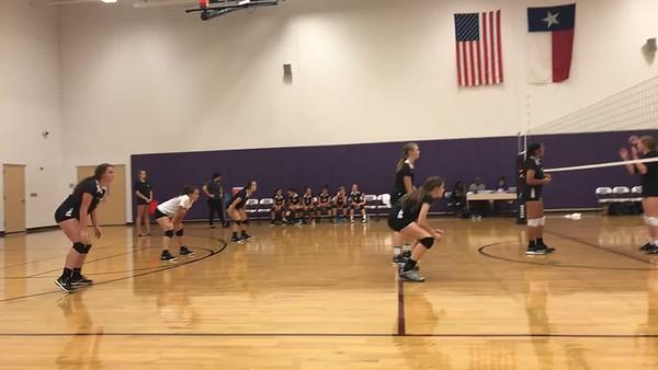 Vista Ridge vs Cedar Ridge Volleyball - 2018