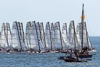 Regates catamaran Bassin d'Arcachon 2013