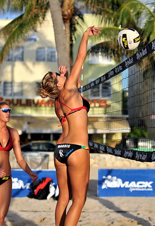 Volley Ball on South Beach