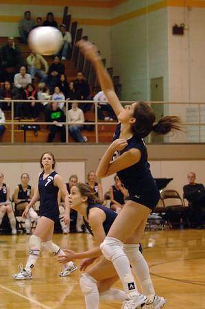 Andover Varsity Volleyball Jan 22 2007