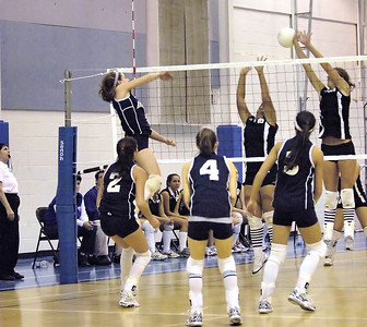 Andover Volleyball Feb 26, 2006