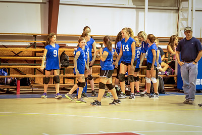 HHA B-team Volleyball 9-15-16