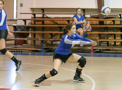HHA vs Calhoun Volleyball 8-26-14