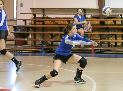 HHA vs Calhoun Volleyball 8-26-14