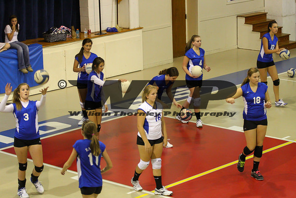 HHA vs DA Volleyball JV 9-13-1012