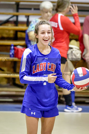HHA vs StJohn's Christian Academy V Volleyball 10-18-16