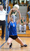 Callie Sloop, #6 for Gate City, gets low to set ball for shot. Photo by ned Jilton II