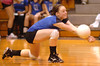 Gate City's #10 Sydnee Snapp dives for ball. Photo by Ned Jilton II