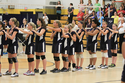 KJHS 7th & 8th vs mercer co 9-18-2013