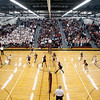 Record-Eagle/Jan-Michael Stump<br /> Charlevoix vs Houghton in the Class C quarterfinals Tuesday in Charlevoix.