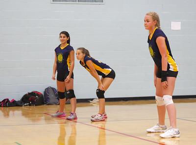 JV volleyball match EHS vs. BHS.