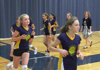 Volleyball EHS vs BHS 2014 JV