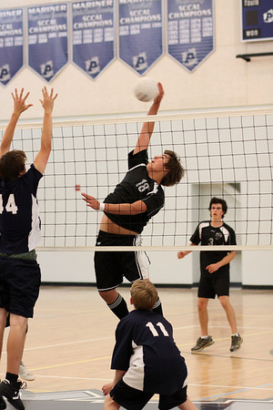 2009-04-30 Boy's Highschool JV Volleyball - PCS at Aptos