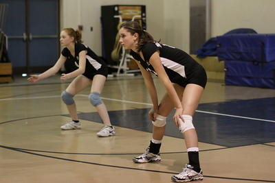 2009-10-22 Girl's Highschool Volleyball - Calvary Christian at PCS