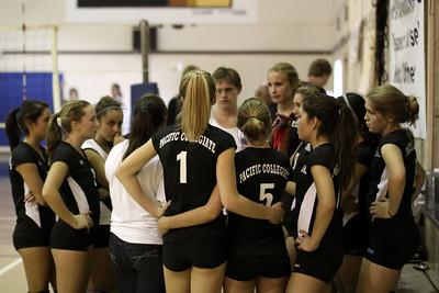 2010-09-10 Girl's Highschool Volleyball - Stevenson at PCS