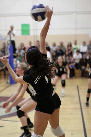 2010-11-04 Girl's Highschool Volleyball - PCS at Kirby