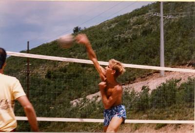 Mike's Utah VBall Photos 1985-6