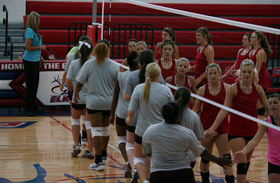 Volleyball Scrimmages 8/10/13