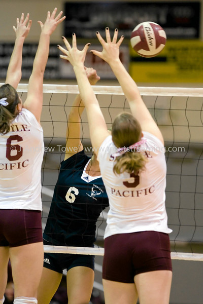"Images from the November 1st 2007 Seattle Pacific University Falcons Volleyball match versus the Western Washington University Vikings at Brougham Pavilion in Seattle Washington in the NCAA Division II Great Northwest Athletic Conference. Images have been batch processed for display on the web. 4x6 prints will be made 'as-is' and are priced at a substantial discount, all other sizes and products will be post-processed by hand to maximize image quality (and reflect my usual pro pricing).  Small digital images for web use are available on request with any print purchase. Images may be used for personal viewing, but may not be used for any commercial purposes or altered in any form without the express prior written permission of the copyright holder, who can be reached at troutstreaming@gmail.com Copyright © 2007 J. Andrew Towell   <a href=""http://www.troutstreaming.com"">http://www.troutstreaming.com</a> . <br /> <br /> As always, feedback - good and bad - is always appreciated!"