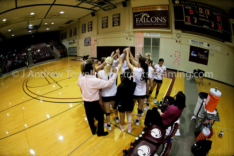 "Images from the 2009 Seattle Pacific University Falcons Volleyball NCAA Division II match versus the Northwest Nazarene University Crusaders. Images have been batch processed for display on the web. 4x6 prints will be made as-is and are available at a substantial price discount, all other sizes and products will be post-processed by hand to maximize image quality (and reflect my usual pricing).  Small digital images for web use are available on request with any print purchase. Images may be used for personal viewing, but may not be used for any commercial purposes or altered in any form without the express prior written permission of the copyright holder, who can be reached at troutstreaming@gmail.com Copyright © 2009 J. Andrew Towell   <a href=""http://www.troutstreaming.com"">http://www.troutstreaming.com</a> . <br /> <br /> As alwyas, feedback - good and bad - is always appreciated!"