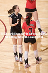 CHARLESTON, SC - College of Charleston defeats Davidson in SoCon volleyball action.