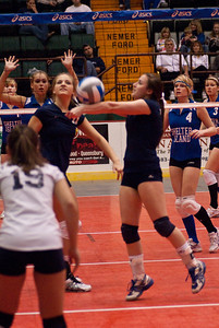 2009 NYS Finals Girls Volleyball-985