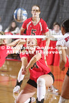 RALEIGH, NC - Davidson volleyball falls to NC State 3-1.