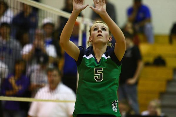 2009 TR Volleyball vs Highlands Ranch (Varsity) 10/13/09