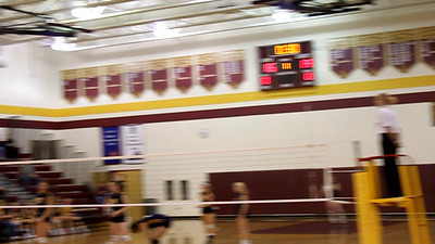 Broad Run and Loudoun County high school volleyball fans cheer their teams on Thursday night in a big AA Dulles District showdown run by the Raiders, forcing a one-game playoff between the two teams Sat. Oct. 31 at Briar Woods High School.